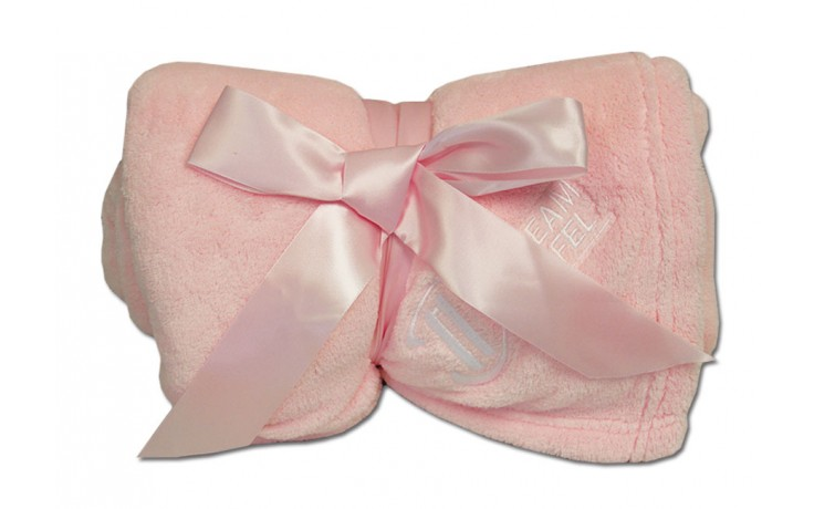 Luxury Plush Competition Blanket - Light Pink