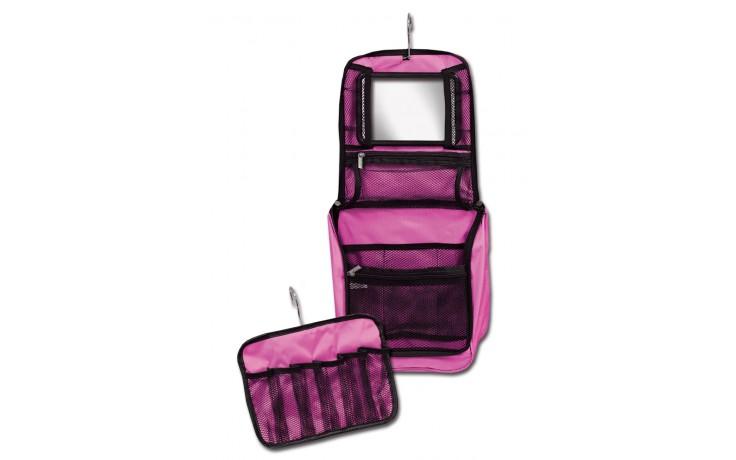 Hanging Cosmetic Case Pink Dream Duffel