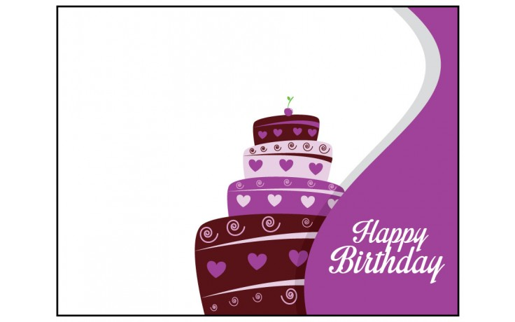 Personalized Greeting Card - Happy Birthday 2