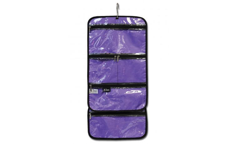 Hanging Accessory Roll - Purple
