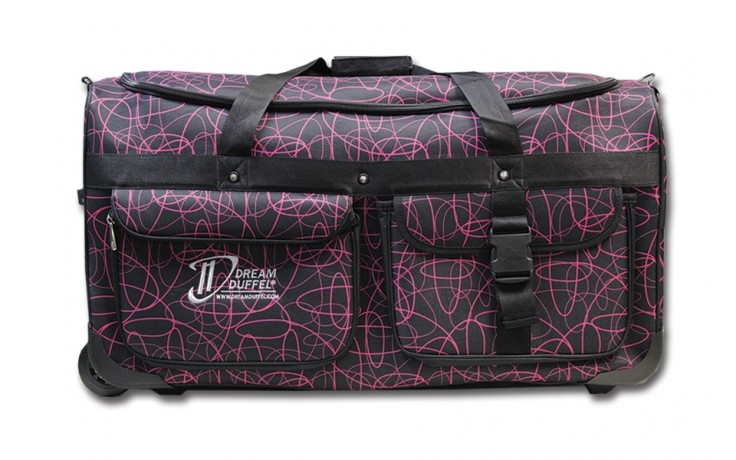 Limited Edition Dream Duffel® - Pink Scribble - Large