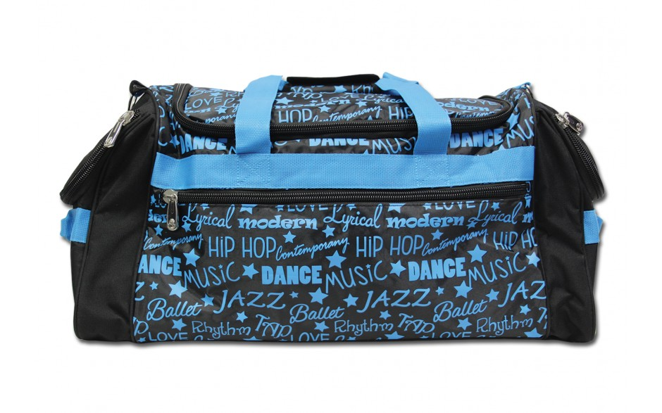 Gym Bag-Graffiti-Blue