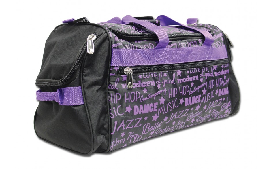 Dance Gym Bag Purple Graffiti Dream Duffel