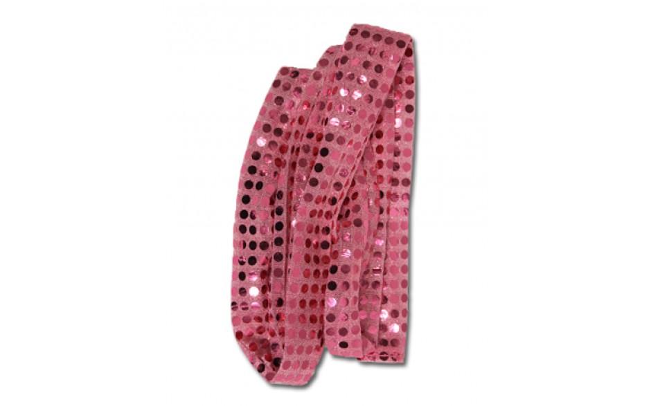Top Bar Scrunchie Light Pink Sparkle Dream Duffel