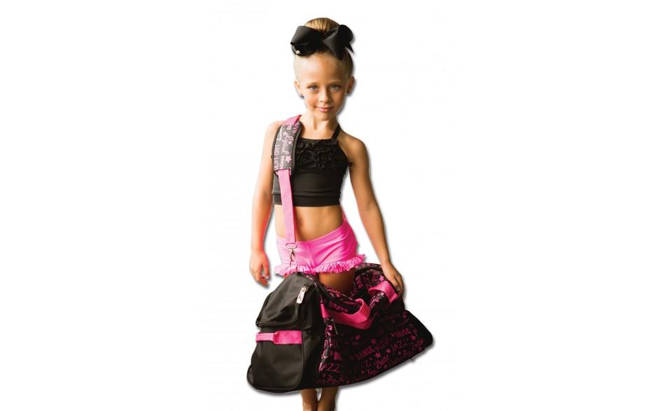 Factory Second Dance Gym Bag - Pink Graffiti