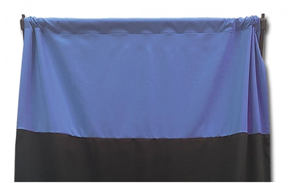 Privacy Curtain - Blue with Personalization