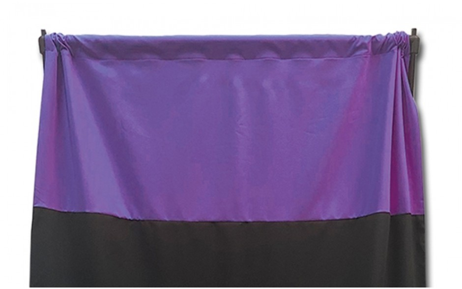Privacy Curtain - Purple with Personalization
