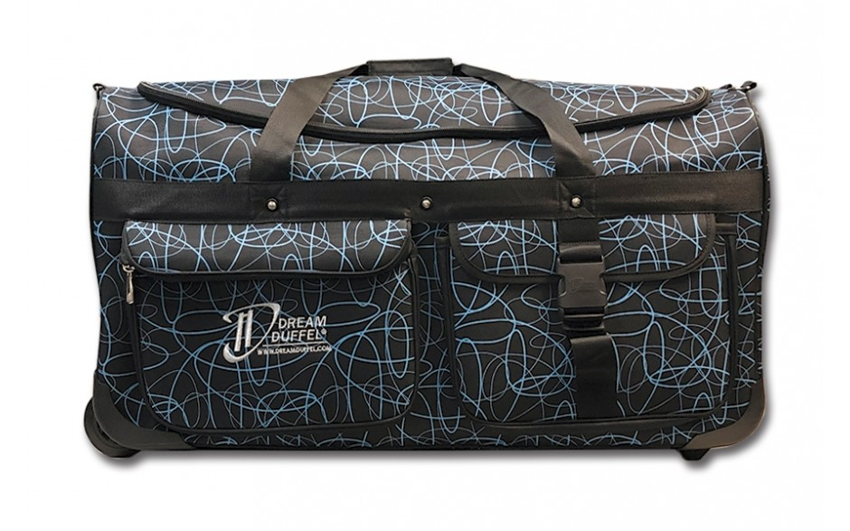 Limited Edition Dream Duffel® - Blue Scribble - Large