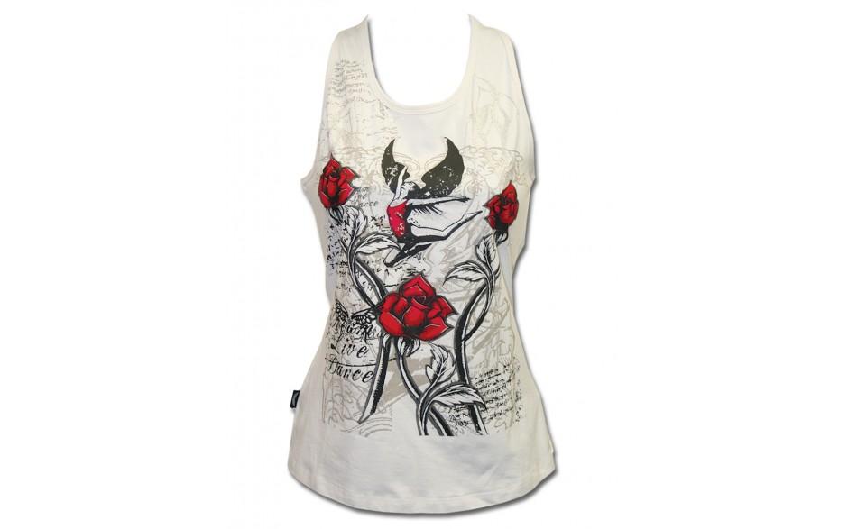 Tank Top - White Rose
