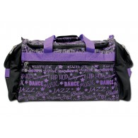 Factory Second Dance Gym Bag - Purple Graffiti