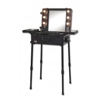 Pro Lighted Mirror Makeup Stand