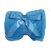 Luxury Plush Competition Blanket - Sky Blue