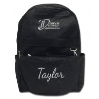 Backpack - Black Sparkle with Personalization