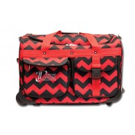 Limited Edition Dream Duffel® - Red Chevron - Medium