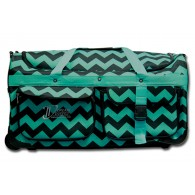 Limited Edition Dream Duffel® - Teal Chevron - Large
