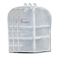 Short Garment Bag - 3-Pack
