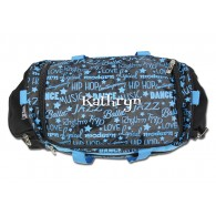 Dance Gym Bag Purple Graffiti Dream Duffel