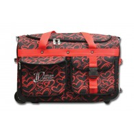 Limited Edition Dream Duffel® - Red Hearts - Medium