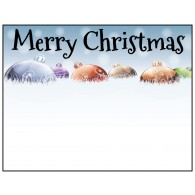Personalized Greeting Card - Merry Christmas