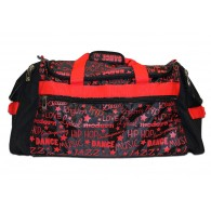 Factory Second Dance Gym Bag - Red Graffiti