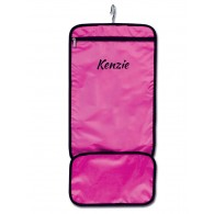 Hanging Accessory Roll - Pink with Personalization