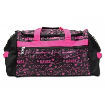 Factory Second Dance Gym Bag - Pink Graffiti