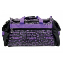 Gym Bag-Graffiti-Purple