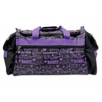 Gym Bag-Graffiti-Purple