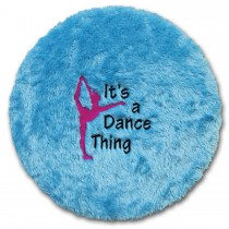 Stool Cover-Black-Its a Dance Thing