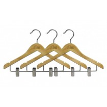 "15"" Wooden Hanger - 3-Pack"