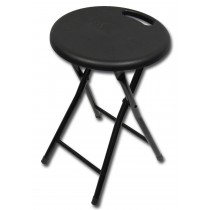 folding stool black