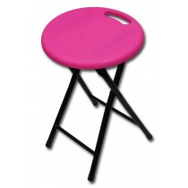 Folding Stool-Pink