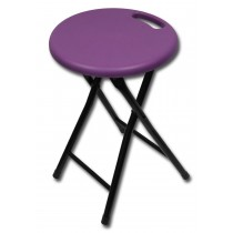 Folding Stool-Purple