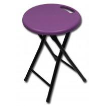 folding stool purple