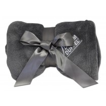 Luxury Plush Competition Blanket - Steel Gray