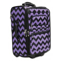 Limited Edition Dream Duffel® - Purple Chevron - Carry-On