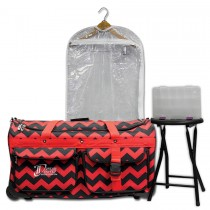 Limited Edition - Large - Red Chevron - Complete Package