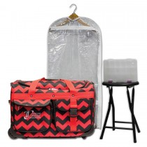Limited Edition - Medium - Red Chevron - Complete Package