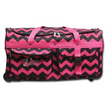 Limited Edition Dream Duffel® - Pink Chevron - Large