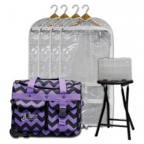 Limited Edition - Small - Purple Chevron - Deluxe Package
