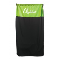 Privacy Curtain - Lime Green with Personalization