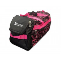 Factory Second Dance Gym Bag - Pink Graffiti with Personalization