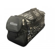 Factory Second Dance Gym Bag - Silver Graffiti with Personalization