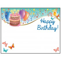 Personalized Greeting Card - Happy Birthday
