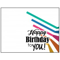 Personalized Greeting Card - Happy Birthday 3