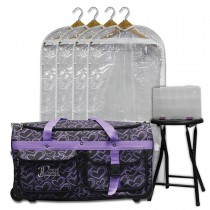 Limited Edition - Large - Purple Hearts - Deluxe Package