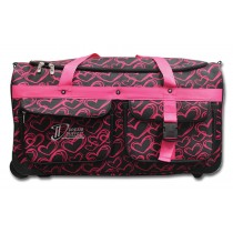 Limited Edition Dream Duffel® - Pink Hearts - Large