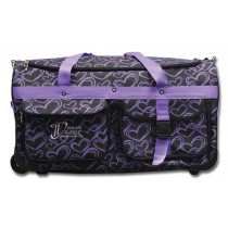 Limited Edition Dream Duffel® - Purple Hearts - Large