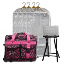 Limited Edition - Small - Pink Hearts - Deluxe Package