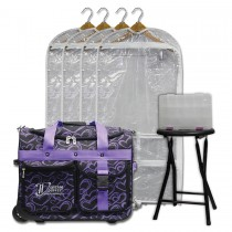 Limited Edition - Small - Purple Hearts - Deluxe Package